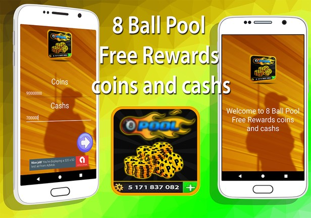 8 Ball Pool Free Rewards cashs and coins