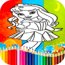 Coloring Princess Games