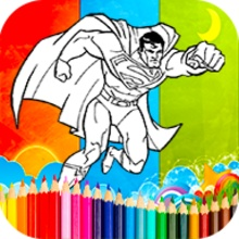 Coloring SuperMan Games