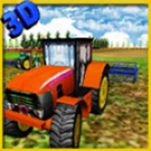 Farm Tractor Driver 3D : Wheat