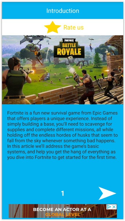 Free Fortnite Reference
