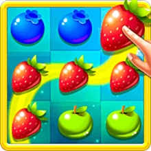 Fruit Link Smash Mania: Free Match 3 Game