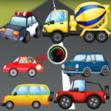 Puzzle for Toddlers Vehicles