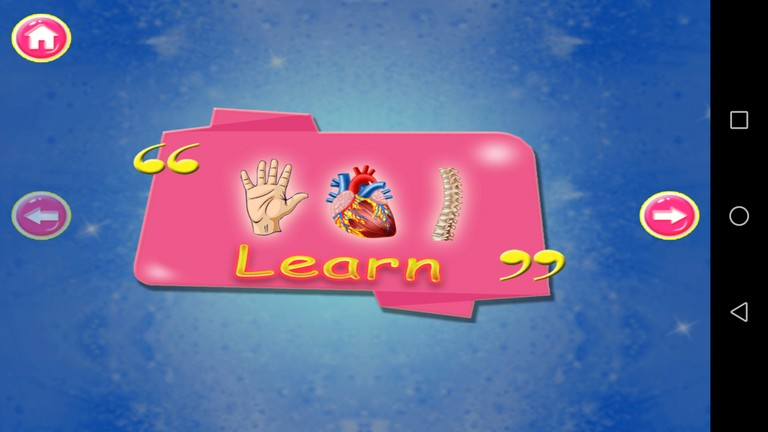 The Learning App – Kids Body Parts Learning