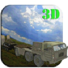 Transporter Truck 3D Army Tank