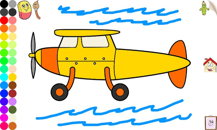 Vehicles and Cars Coloring